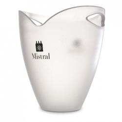 Balde de Gelo Translúcido - c/ Logo Mistral