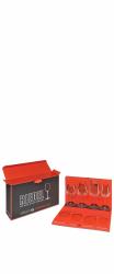 Kit com 4 taças para degustação - Montrachet Chardonnay / Pinot Noir / Cabernet Sauvignon / Riesling - Linha Vinum XL