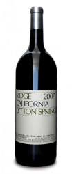 Ridge Zinfandel Lytton Springs 2007  - meia gfa.