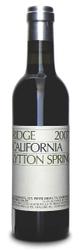 Ridge Zinfandel Lytton Springs 2009  - m...