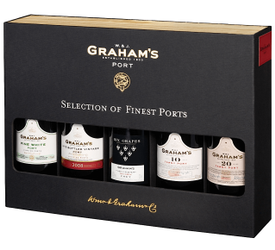 Kit Selection of 5 Graham's Finest Ports...