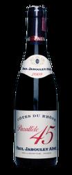 Côtes-du-Rhône Parallèle 45 rouge 2014  - meia gfa.