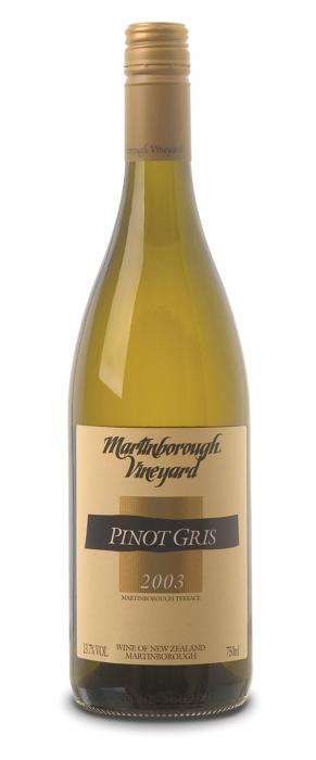 Martinborough Vineyard Pinot Gris 2003
