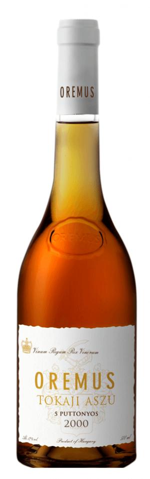 Tokaji Aszú 5 Puttonyos 2000  - 500 ml