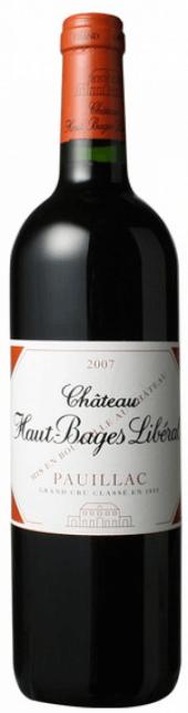 Château Haut Bages Libéral 2007
