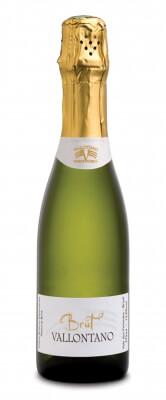 Vallontano Espumante Brut Chardonnay / Pinot Noir  - meia gfa.