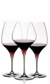 Conjunto de taças Vitis red wine tasting - Kit com 3 taças