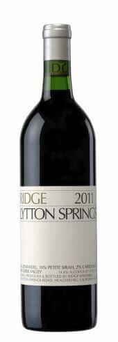 Ridge Zinfandel Lytton Springs 2011