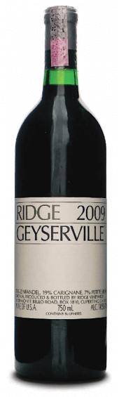Ridge Zinfandel Geyserville 2011
