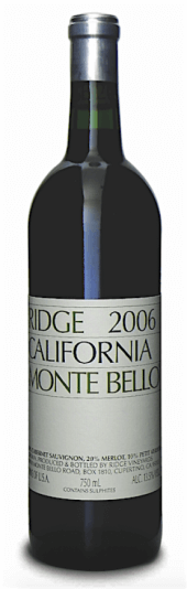 Ridge Monte Bello 2011