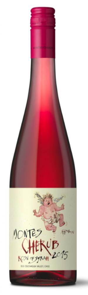 Montes Cherub Syrah Rosé Cosecha Temprana 2015
