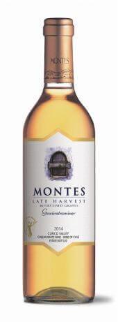 Montes Late Harvest Gewurztraminer 2014  - meia gfa.