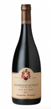 Chambolle-Musigny Cuvée des Cigales 2013
