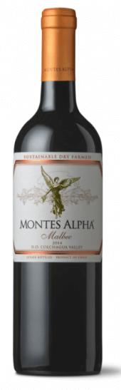 Montes Alpha Malbec 2014