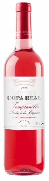 Copa Real rosado 2016