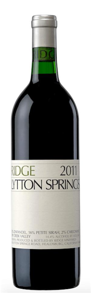 Ridge Zinfandel Lytton Springs 2015