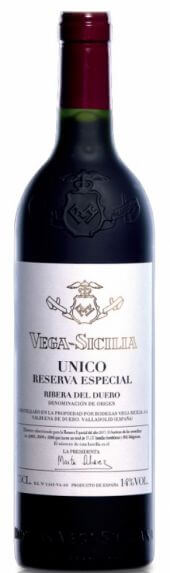 Vega Sicilia Único Reserva Especial Año 2017