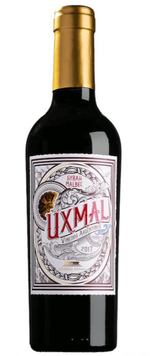 Uxmal Syrah Malbec 2017  - meia gfa.