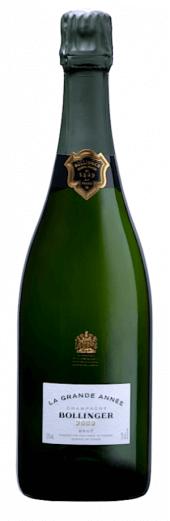 Champagne Bollinger Grande Année Vintage 2007