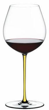 Taça Old World Pinot Noir - Linha Fatto a Mano amarelo