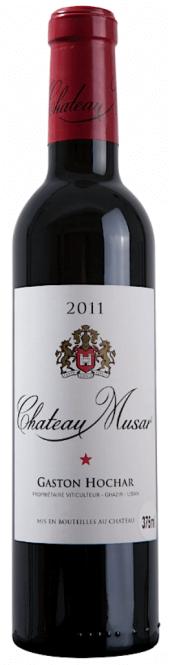 Château Musar rouge 2011  - meia gfa.