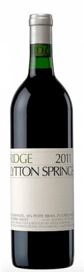 Ridge Zinfandel Lytton Springs 2016