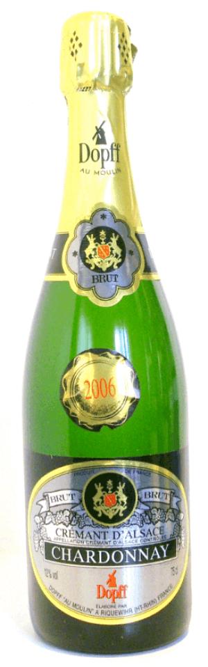 Crémant d'Alsace Chardonnay Brut 2015