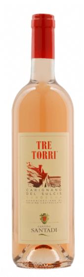 Tre Torri Carignano del Sulcis Rosato 2018