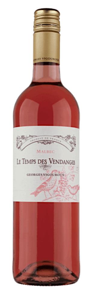 Le Temps des Vendanges IGP Comté Tolosan rosé 2018