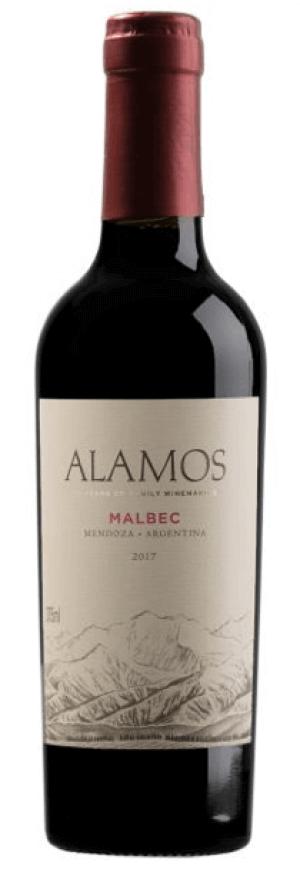 Alamos Malbec 2018  - meia gfa.