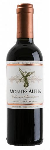 Montes Alpha Cabernet Sauvignon 2017  - meia gfa.