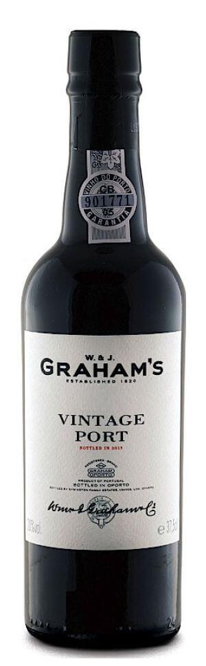 Graham's Vintage Port 2017 - meia gfa.
