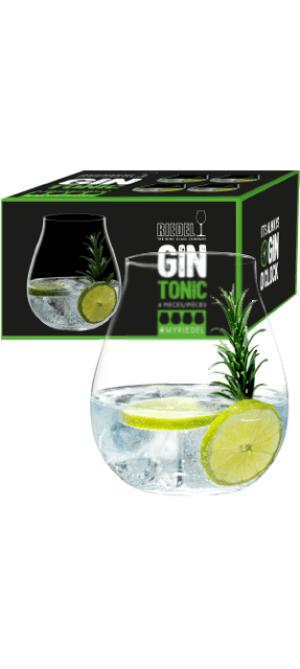 Copo Gin - Kit com 4 copos - Linha 'O'