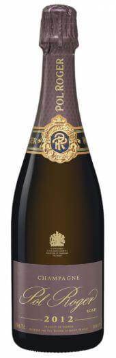Champagne Pol Roger Rosé Brut Vintage 2012