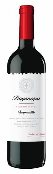 Bayanegra Tempranillo 2019