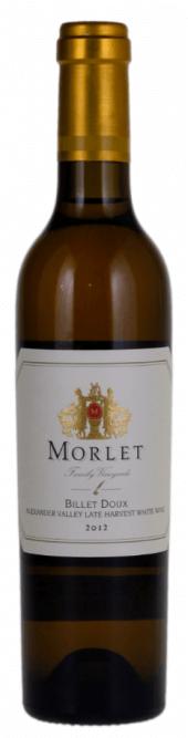 Morlet Family Vineyards Billet Doux Late Harvest 2012  - 375ml.