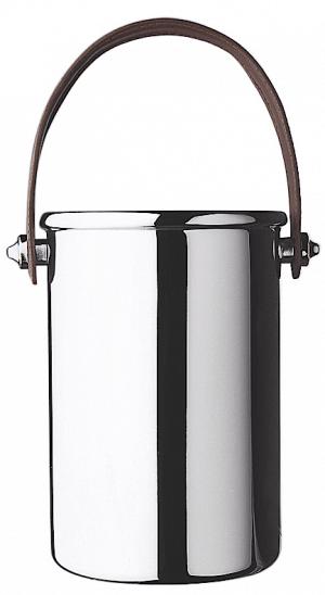 Balde isolante de aço inox com alça de couro - L'Esprit & le Vin